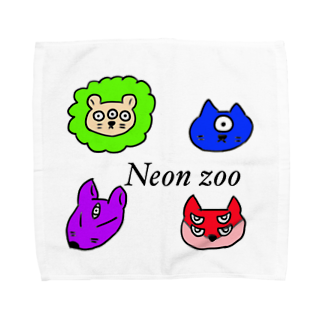 魔王店のneonzoo Towel handkerchiefs