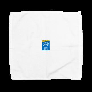 お花畑のcore  i5 Towel handkerchiefs