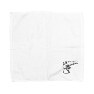nycのぴょん吉(ウソじゃないよ) Towel handkerchiefs