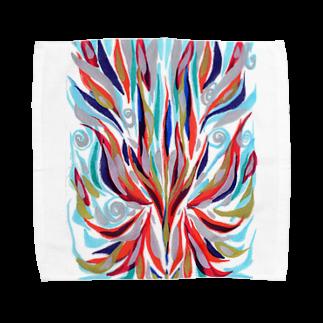 音楽工房田中(YouTuber,Music,Healing)の瀬織津姫 Towel handkerchiefs