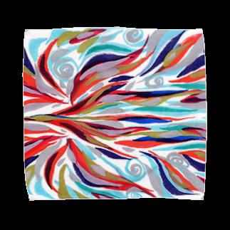 音楽工房田中(YouTuber,Music,Healing)の瀬織津姫.横 Towel handkerchiefs