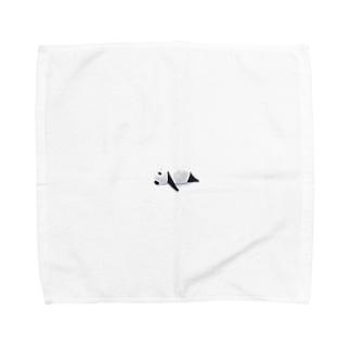 ぐぅたらぱんだ Towel handkerchiefs