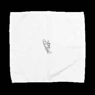 20000427mのハジメテ Towel handkerchiefs