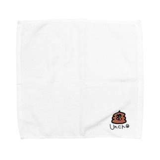 うんちょくん Towel handkerchiefs