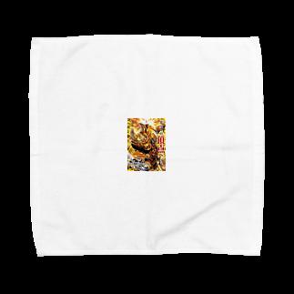peacの牙狼 Towel handkerchiefs