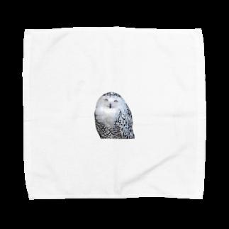 s_k_rの梟 Towel handkerchiefs