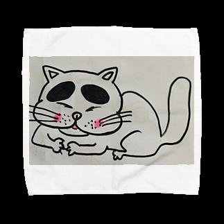 nyazzのにゃチン Towel handkerchiefs
