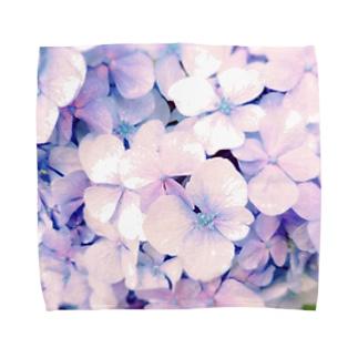 hydrangea Towel handkerchiefs