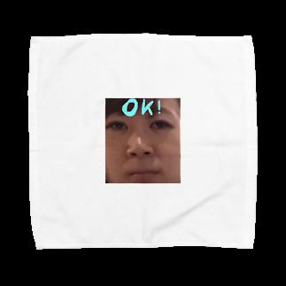 _512gのよ Towel handkerchiefs