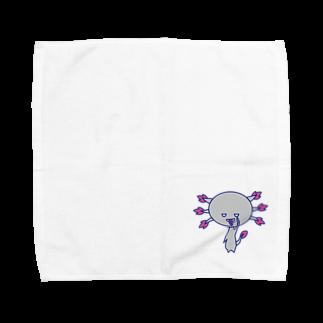 りげると不思議な生き物たちのウパロートルさん Towel handkerchiefs
