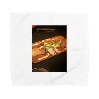 ジビエ系 Towel handkerchiefs