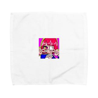 めんへらがーる1 Towel handkerchiefs