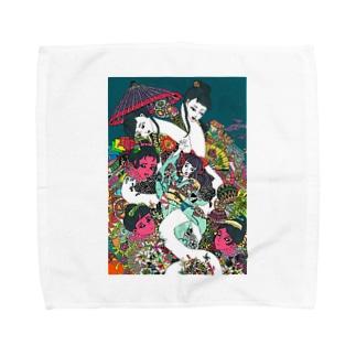g Towel handkerchiefs
