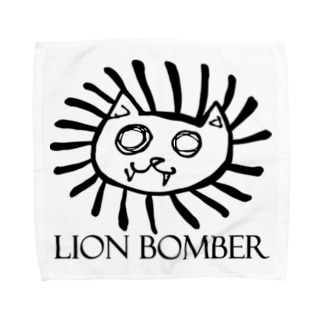 LION BOMBER Towel handkerchiefs