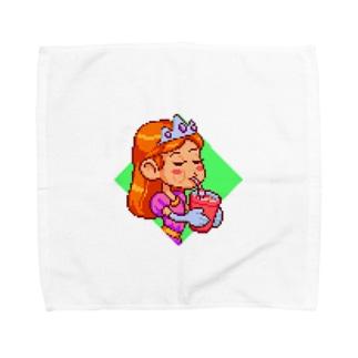 夏、コールドドリンク Towel handkerchiefs