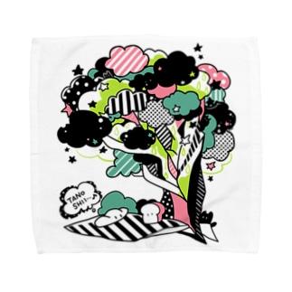 ピクニックな食パンちゃん Towel Handkerchief