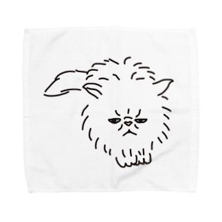 スコティッシュフォールド猫 Towel handkerchiefs