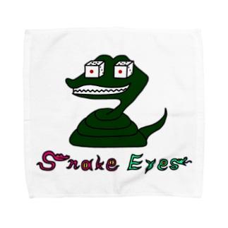 snake eyes Towel handkerchiefs