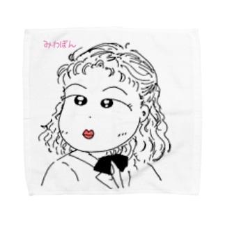 みわぽん Towel handkerchiefs