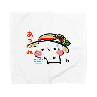 「あついね。」 Towel handkerchiefs