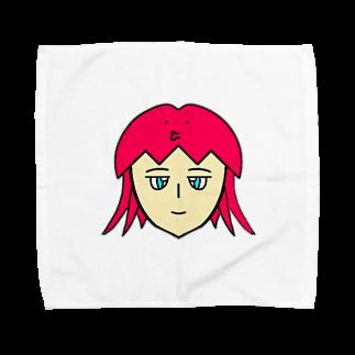 ヒロさんのグッズのタコちゃん Towel handkerchiefs