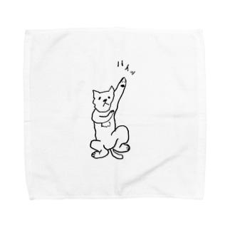 ハイッ猫 Towel handkerchiefs