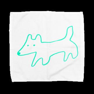 STORE(ストア)のinu-kitsune green Towel handkerchiefs