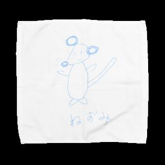 simono0501の絵心がないネズミシリーズ Towel handkerchiefs