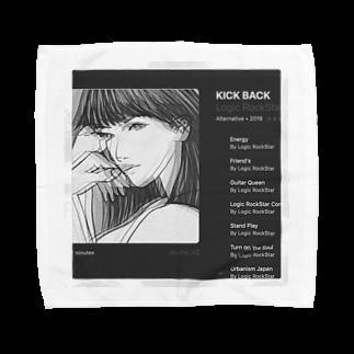 Logic RockStar  illustration Official StoreのKick Back  Towel handkerchiefs