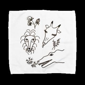 カロンのバッタリ Towel handkerchiefs