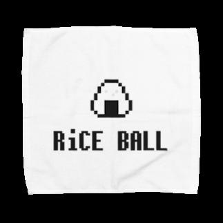 カットボスのライスボール Towel handkerchiefs