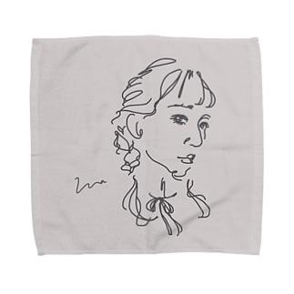 アンニュイgirl Towel handkerchiefs