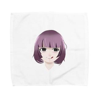 メンヘラちゃん Towel handkerchiefs