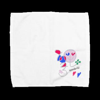 くる°・🐠or DEADのwonderfulなハニーさん Towel handkerchiefs