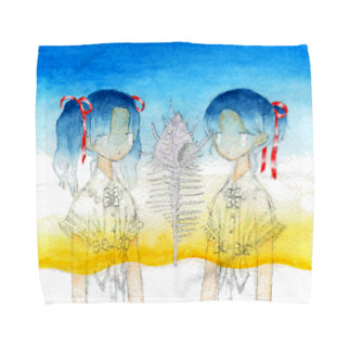 sironの夏のグラデーション Towel handkerchiefs