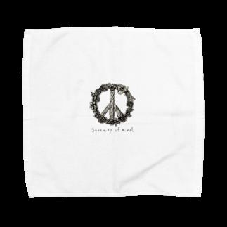 YUHKIのSerenity of mind Towel handkerchiefs