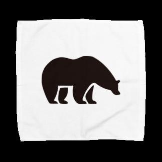 BASE-CAMPのBASE BEAR 01 Towel handkerchiefs