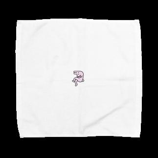 tanaka_____のねないとうさぎ Towel handkerchiefs