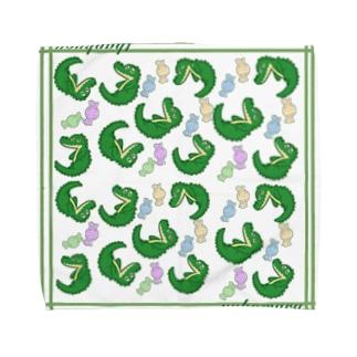 ペロワニくん Towel handkerchiefs