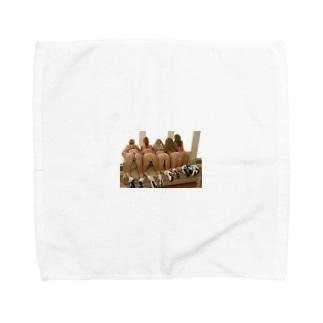 オシリ Towel handkerchiefs