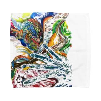 エネルギー Towel handkerchiefs