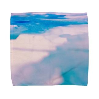 甘いみずたまり Towel handkerchiefs