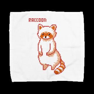 m :)のアライグマ Towel handkerchiefs