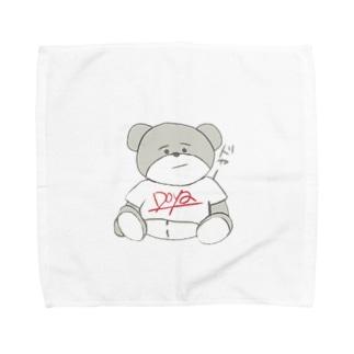 どやくま Towel handkerchiefs