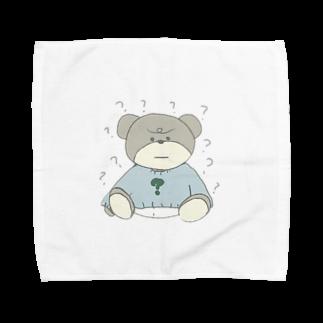 1993rt_の?はてなくま Towel handkerchiefs