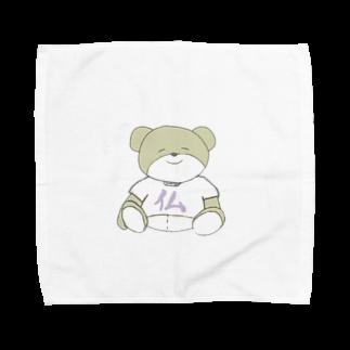 1993rt_のほとけくま Towel handkerchiefs
