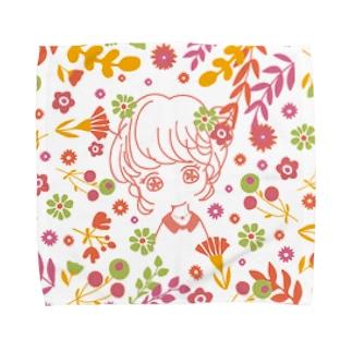 乙女の花占い Towel handkerchiefs