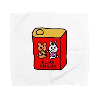アニマルドロップス Towel handkerchiefs