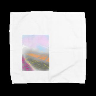 魚風商店の遠い春 Towel handkerchiefs