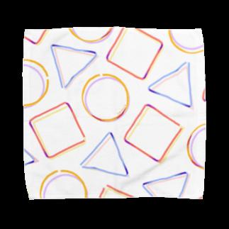 下之下の三四丸 Towel handkerchiefs